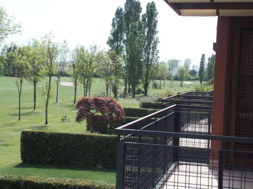 Vista appartamenti nel campo da Golf